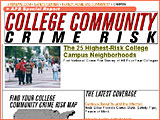 College campus crime risk