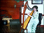 Harpist Mary Cooke
