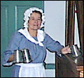 Colonial bar maid